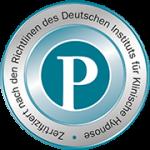 zertifiziert nach den Richtlinien des deutshen Institus für Hypnose