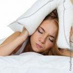 Stress und Nicht-Abschalten-Können verhindern Schlaf