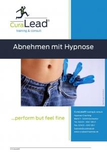 Info-Flyer Abnehmen mit Hypnose